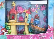 NIB Disney Princess Little Mermaid Kingdom Ariel's Sea Castle & Boat Playset Toy