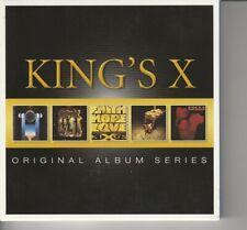 CD Box Set (5 CD's) - King's X - Original Album Series - Warner 8122796511