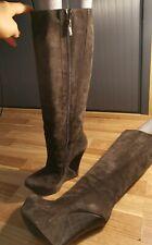 Pura Lopez platform long winter boots size 37 UK 5