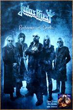 Judas Priest Redeemer Of Souls Ltd Ed Rare Poster+Free Metal Poster! Firepower
