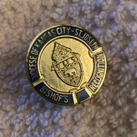 Vintage Medal Diocese of Kansas City, Bishop's Recognition Pin