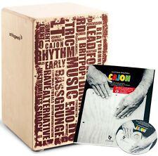 Schlagwerk CP 130 X-One Styles + Cajon Lehrbuch inkl CD