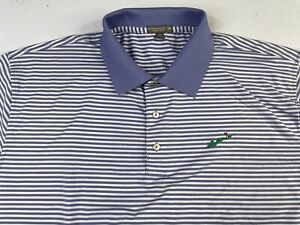 Peter Millar Summer Comfort Striped Golf Polo Size XXL Whistling Straits