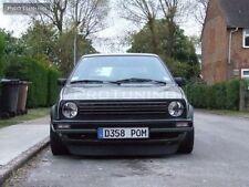 VW Golf 2 MK2 For small bumper lip spoiler GTI style Splitter Duckbill Chin ABS