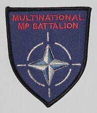 NATO Aufnäher Patch Multinational MP Battalion Polen ............A3281