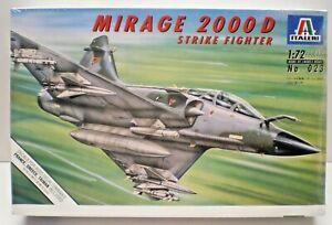 NEW ITALERI DASSAULT MIRAGE 2000D STRIKE FIGHTER MODEL KIT 1/72 SCALE SEALED 023