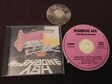CD Wishbone Ash TWIN barili Burning EU 1993