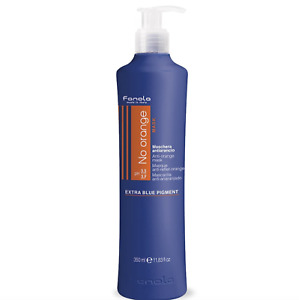 Fanola No Orange Anti-Orange Hair Mask 350ml with pump - Banish Unwanted Copper