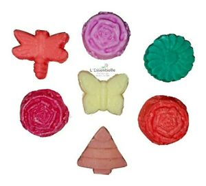 Soy Wax Melts x7 Mix Scents Rose, white musk, lavender, sandalwood, Apple Spice