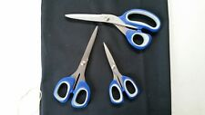 Heavy Duty Household Office Craft Scissors ~ 3 Sizes in Pack
