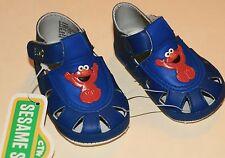 NwT Size 1 infant soft bottom Elmo sandals for infants, or reborns