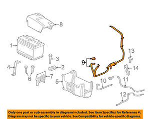 Buick GM OEM 10-16 LaCrosse-Battery Cable 26679372
