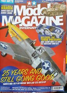TAMIYA Model Magazine November 2020 1:48 P-51D Mustang Marder I Brewster Buffalo