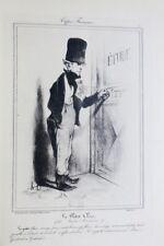 Daumier, peintre et lithographe. 1923