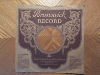 BRUNSWICK 78-RPM-  NO RECORD-SLEEVE-ONLY    VG+  CONDITION