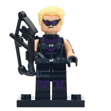 Hawkeye - Marvel AVENGERS Lego DYI Minifigure Gift For Kids [Purple Suit]