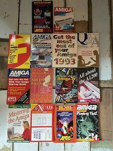 Amiga Books - Help, Hints And Tips Collection Of Magazine Released Books