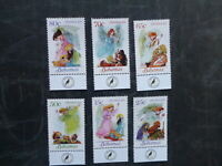 2011 BAHAMAS CHRISTMAS ANGELS SET 6 MINT STAMPS M.N.H.