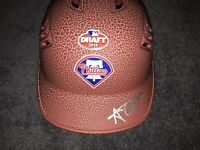 ALEC BOHM SIGNED PHILADELPHIA PHILLIES 2018 MLB DRAFT LOGO BASEBALL HELMET COA