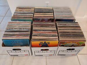 Quality Vinyl Lp Album Lot Classic Rock Pop New Wave 60s 70s 80s You Pick Choose