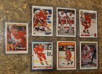 (7) Sergei Fedorov 1990-91 OPC Premier Upper Deck Score Rookie Card lot RC HOF