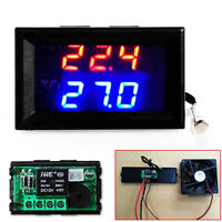 12V -50-110°C Smart LED Digital Temperatur Regler Thermostat Temperaturschalter