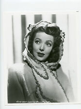 Vintage 8x10 Loretta Young American Stage, TV & Film actress