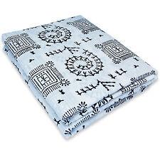 Hand Block Printed Sanganeri Floral Print 10 Yards Indian Pure Cotton Fabric A5