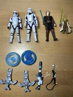 Star Wars Anakin Skywalker Yoda Forest Mission 3.75-Inch Figure Troopers