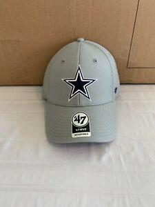 Dallas Cowboys NFL '47 Brand Gray MVP Adjustable Hat Brand New