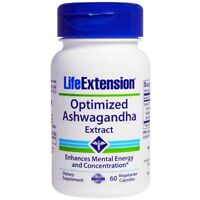ASHWAGANDHA OPTIMIZED EXTRACT ANTI ANXIETY STRESS RELIEF FORMULA 60 VEGGIE CAPS