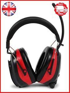Nordstrand Ear Defenders Protection Muffs Headphones - AM/FM Radio - Phone Jack
