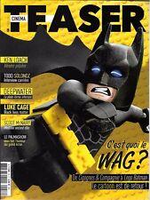 CINEMA TEASER N° 58--KEN LOACH/TODD SOLONDZ/DEEPWATER/LUKE CAGE/LEGO BATMAN