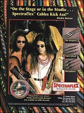 Richie Kotzen 1994 Spectraflex guitar cables 8 x 11 ad John Pierce Atma Anur