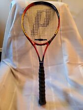 Prince LXT Graphite Tennis Racquet No. 3 4 3/8 Red Black Comfort Feather Lite
