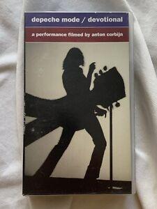 DEPECHE MODE Devotional VHS keine DVD