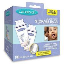 Lansinoh Breastmilk Storage Bags - 100 CT NEW!!! PUMP INTO BAG
