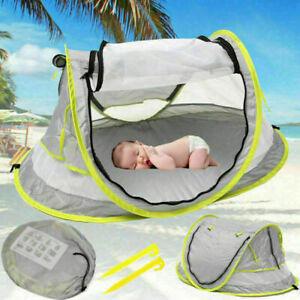 1x Up Baby Strandmuschel Wurfzelt Sonnenschutz Windschutz Zelt Schutz Strandzelt