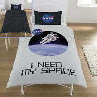 Nasa I Besoin Mon Espace Set Housse de Couette Simple Neuf Astronaute