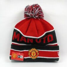 New Era Cap Men's Manchester United Football Club Colors Winter Knit Beanie Hat