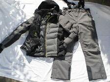 Herren Skianzug grau schwarz gelb 48 M  NEU hochfunktionell 10000 wassersäule