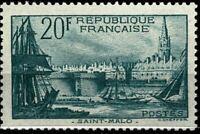FRANCE 1938 Port de SAINT MALO  YT n° 394 neuf ★★ luxe / MNH