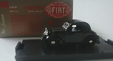 BRUMM 1:43  DIE CAST AUTO FIAT 500 TOPOLINO HP 13  1936-1948 NERO ART R22
