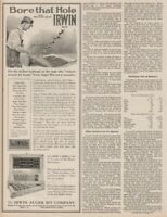 1921 Irwin Auger Bit Co. Wilmington Ohio Hand Brace Drill Antique 1920s Tool Ad