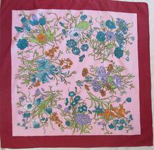 -Superbe Foulard  BOSELLI  TBEG  vintage scarf  78 x 79 cm