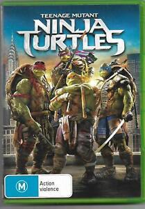 Teenage Mutant Ninja Turtles **Australian PAL Region 4 DVD** VGC