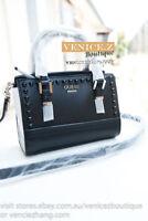 BNWT GUESS RRP$129 DEVYN Mini Crossbody Shoulder Bag Satchel Black Multi