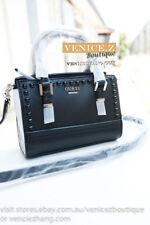 BNWT GUESS RRP$129 DEVYN Mini Crossbody Shoulder Bag Satchel Black IMPERFECTION