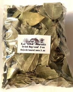 Bay Leaves- hoja de Laurel  3 oz. - Whole  Dried Leaf - Free Shipping