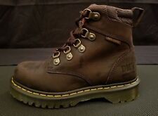 Dr. Martens Holkham NS Hiker Leather Steel Toe Boots Gaucho Men's Size 4 Women 5